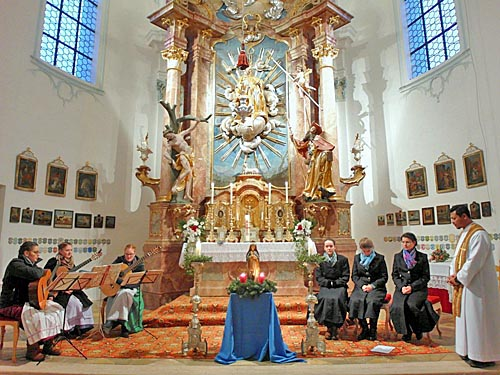 Adventsandacht in St. Leonhard